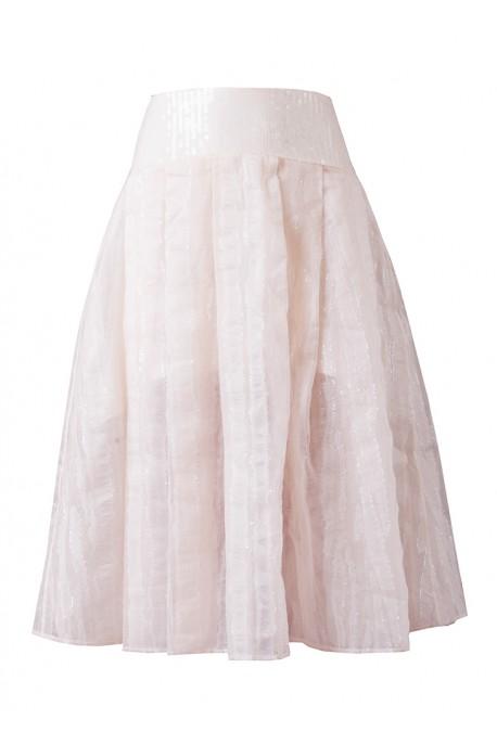 Spódnica cekin biała DESIRE