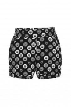 Black shorts Owls DESIRE