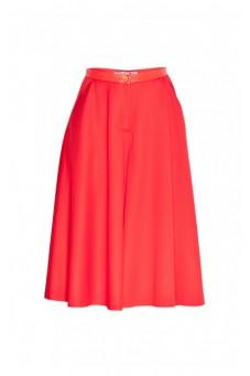 Czerwone spódnicospodnie
