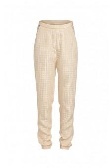 Spodnie biodrówki pikowane