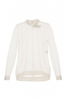 Transparent ecru blouse DESIRE