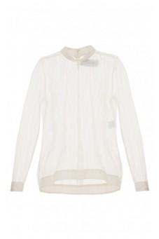 Transparent ecru blouse DESIRE