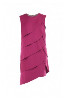 Draped fuchsia dress PRE-FALL