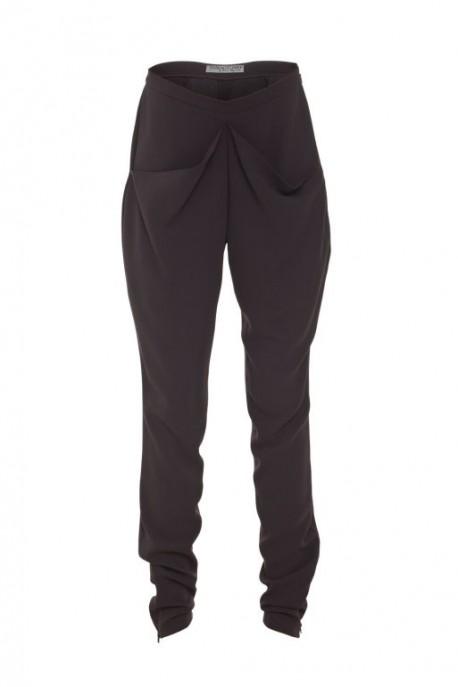 Jedwabne spodnie