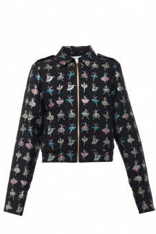 Bomber jacket ballerina black Wonderland