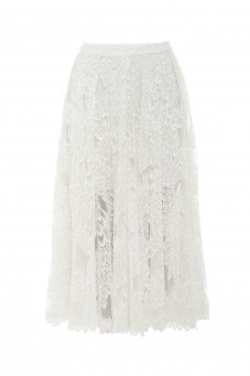 Midi laced skirt Wonderland