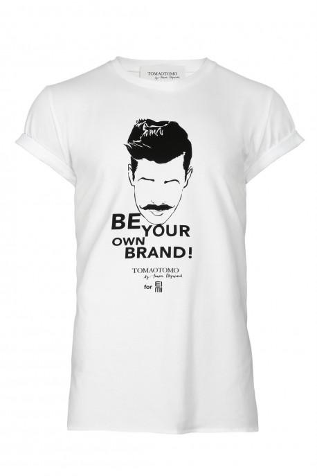T-shirt BE YOUR OWN BRAND męski