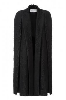 Płaszcz wełniany czarny Baroq&Roll