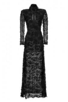 Suknia czarna maxi Baroq&Roll