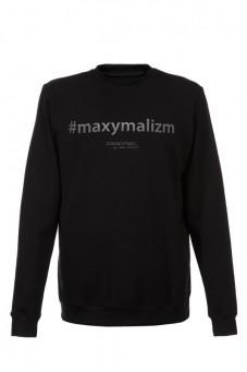 Bluza czarna MAXYMALIZM Baroq&Roll