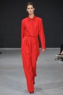 Koszula czerwona z kołnierzykiem Baroq&Roll