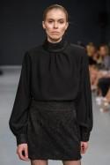 Bluzka czarna ze stójką Baroq&Roll