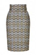 Spódnica ołówkowa romby Baroq&Roll