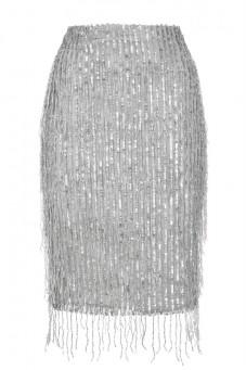 Spódnica z koralikowych frędzli Baroq&Roll