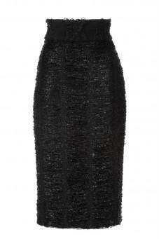 Spódnica ołówkowa nitki czarna Baroq&Roll