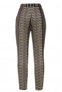 Spodnie z nićmi rypsowymi Baroq&Roll