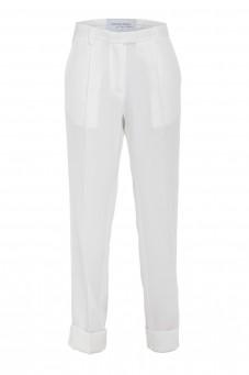 Białe spodnie VERONIQUE
