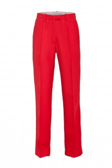 Red tuxedo pants VERONIQUE