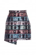 SHIRTS printed skirt Wonderland