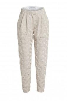 Loose guipure trousers VERONIQUE
