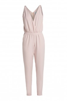 Pink jumpsuit VERONIQUE