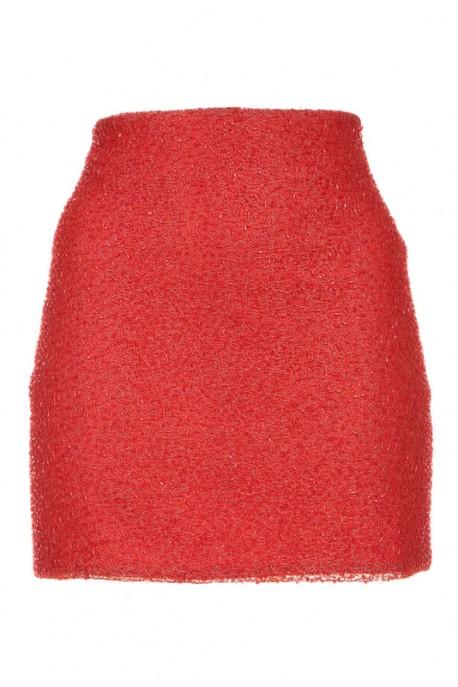 Spódnica czerwona mini Baroq&Roll