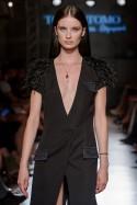 Suknia czarna kamizelkowa PIANO-FORTE