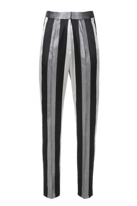 Ołówkowe spodnie w pasy PIANO-FORTE