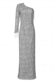 Długa suknia z koralików Baroq&Roll