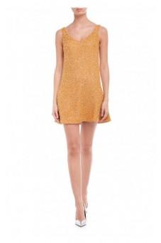 Coral dress Wonderland