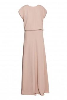 Maxi silk gown