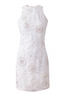 Sleeveless lace dress DESIRE
