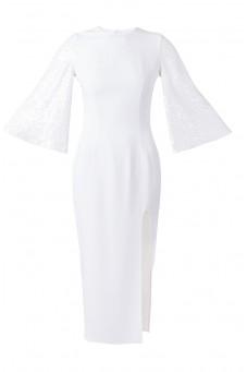 Sukienka rękawy cekin DESIRE