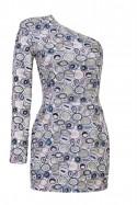 Sukienka mini w koła Baroq&Roll