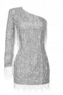 Sukienka mini na jedno ramię Baroq&Roll