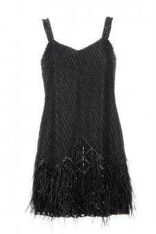 Sukienka mini na ramiączkach PIANO-FORTE
