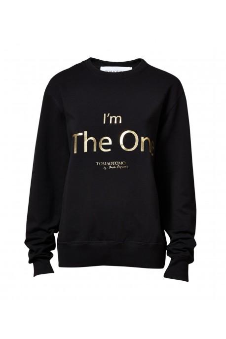Bluza The One złoto