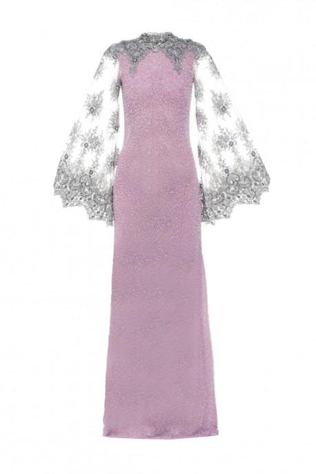 Suknia maxi z pereł Wonderland