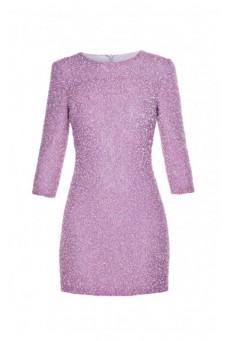 Sukienka mini z koralików