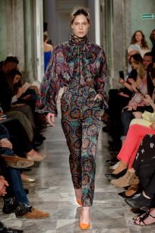 Jedwabne spodnie we wzory LaDorothée