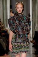 Wzorzysta koszula z jedwabiu LaDorothée