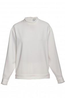 Bluzka biała jedwab