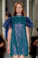 Mini sukienka z bufiastymi rękawami LaDorothée