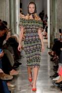 Sukienka bez ramion z gipiury LaDorothée
