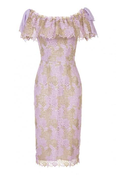 Sukienka bez ramion LaDorothée