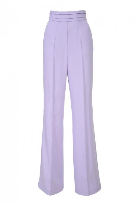Spodnie w kolorze wrzosu LaDorothée