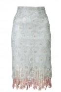 Ołówkowa spódnica z gipiury LaDorothée