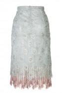 Ołówkowa spódnica z koronki LaDorothée