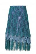 Koronkowa sukienka ze stójką LaDorothée