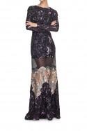 Suknia maxi cekinowa